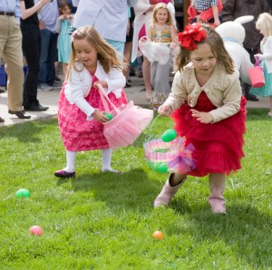 Easter Party at the Clubhouse