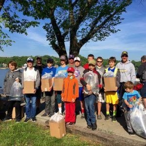 Every single kid caught a fish—and several won prizes