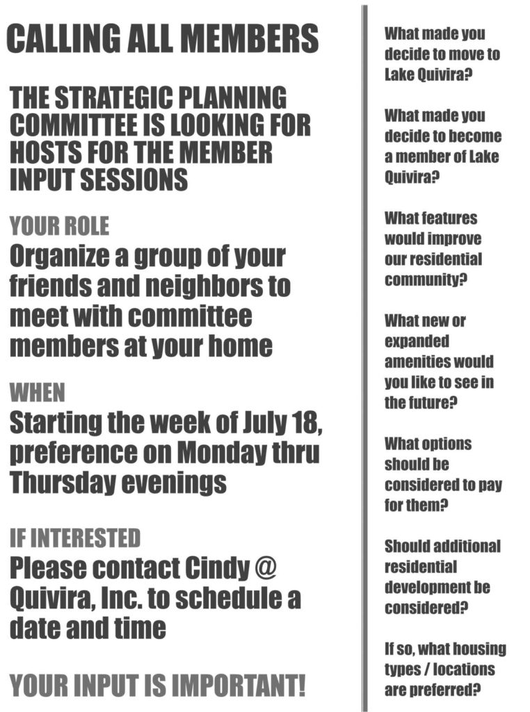 Microsoft Word - Member Input Sessions - Flyer