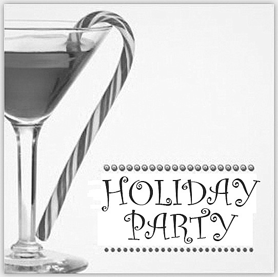 0816 Clubhouse Holiday Party Clip Art
