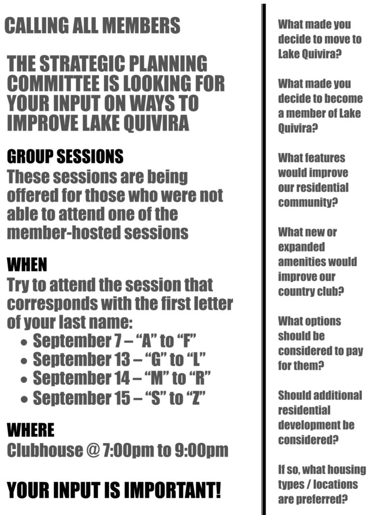 Microsoft Word - Member Input Sessions - Flyer _Group Sessions_