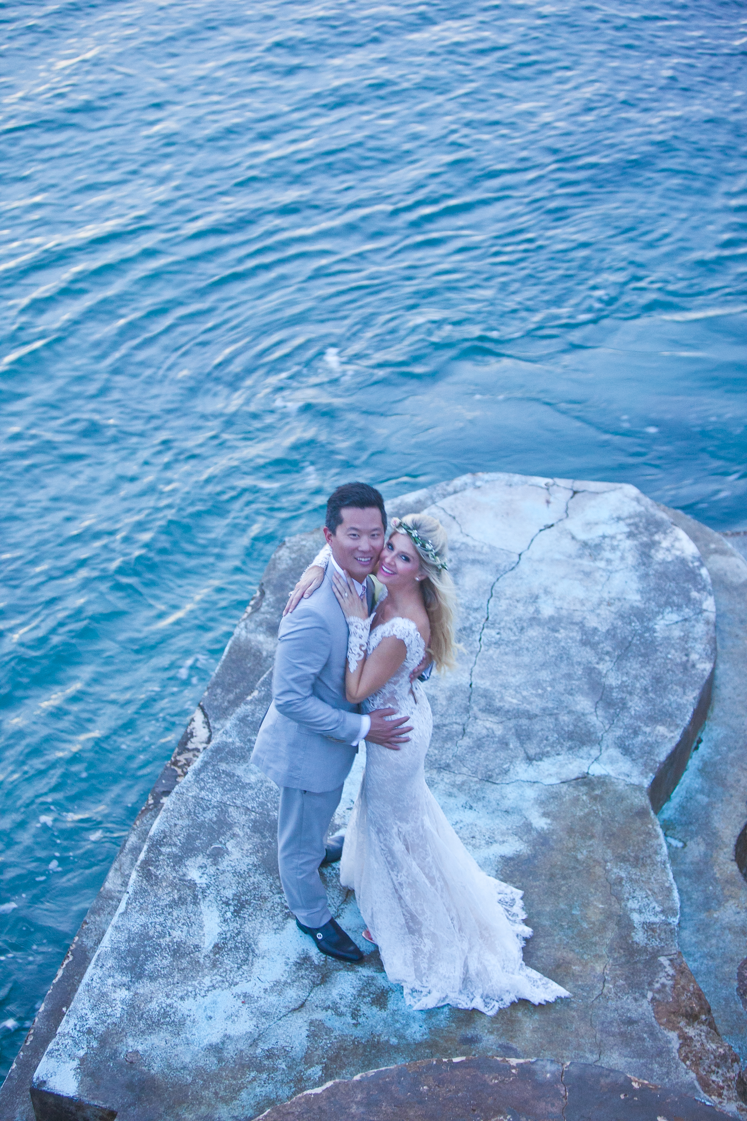 Ashley Richards And Lenny Lee Exchange Wedding Vows In Anguilla British West Indies
