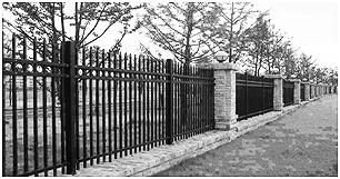 Perimeter Fencing Concept