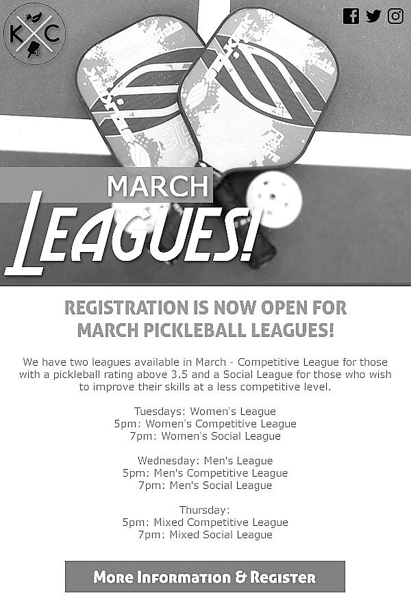 0317 pickleball league poster