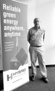 Ray Ansari, founder and CEO of Hybrid Energy