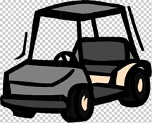 0617 golf cart clip art