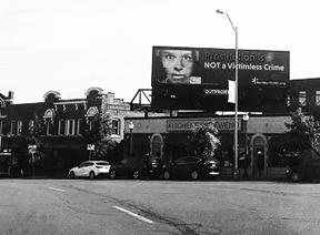 Billboard in Westport