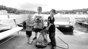 0717 fishing club Max and Ian Lilly and Lennon Cline (002) bw sized
