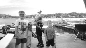 0717 fishing club Max and Ian Lilly and Lennon Cline 2 (002) bw sized