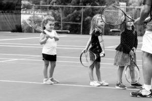 0717 tennis kids 2 bw sized