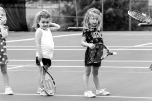 0717 tennis kids 4 bw sized