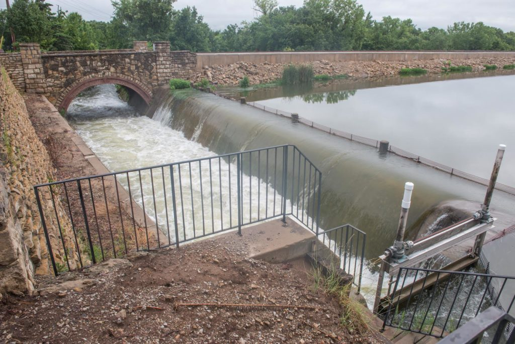 0817 storm spillway and bridge dieter july 27