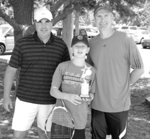 0817 tennis 3rd Place - Jack and Jon Bichelmeyer with Pro Jon 12 and under bw sized