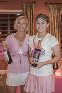 The True Queens of the Court: Champions Nancy Wedel and Bree Honer. Photo by Leslie Treas