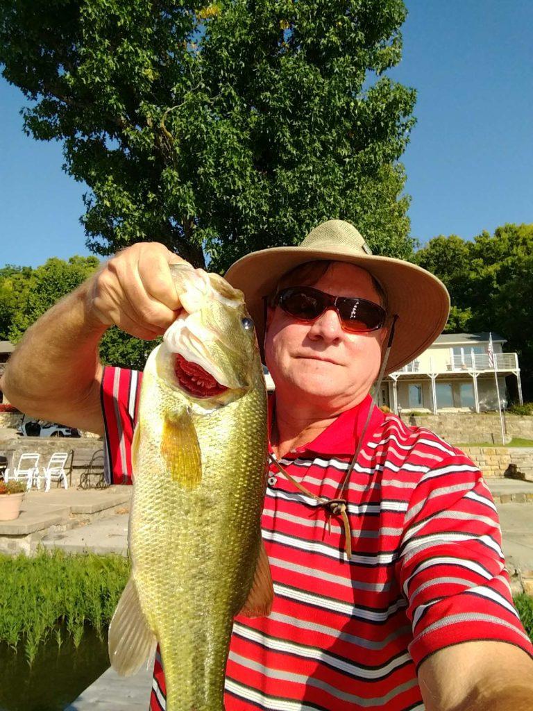 Geof Gehring mega-bass selfie