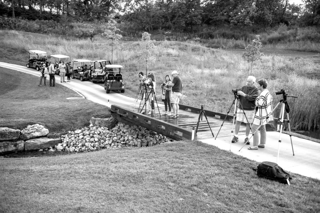 The LQ Photo Club gathered in September on Hole #2 to practice slow exposures. Photos by Dieter Kinner.