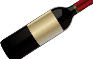 1017 wine bottle