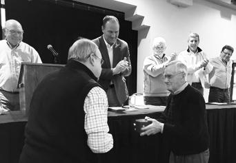 Jerry Neill (front right) Spirit of Quivira Award.winner
