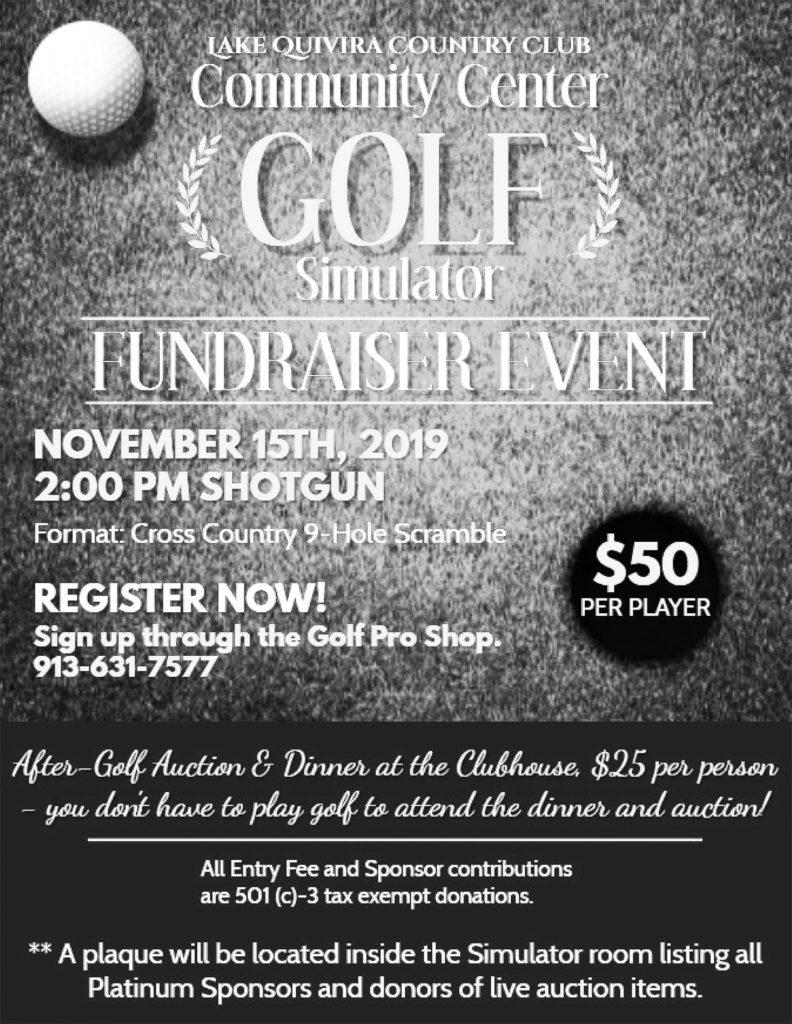 1119 golf simulator fundraise bw sizedr