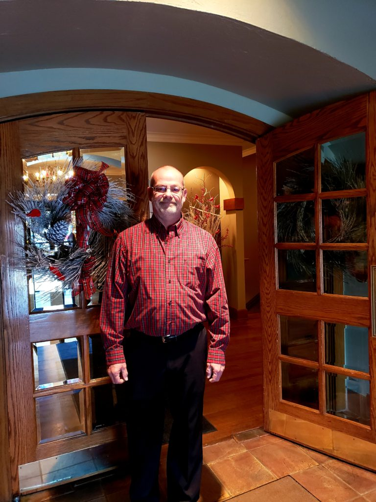 """Richard Borchers, Clubhouse, loves getting to  know people and has a """"soft spot for kids."""""""
